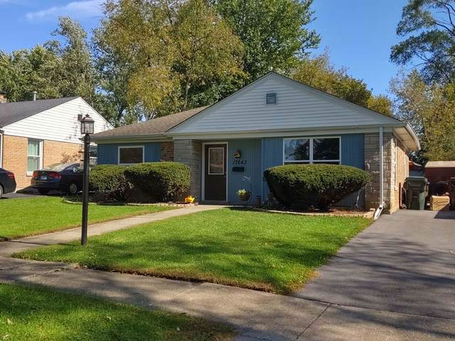 17643 Dundee Avenue, Homewood, IL 60430 (MLS #10607010) :: The Wexler Group at Keller Williams Preferred Realty
