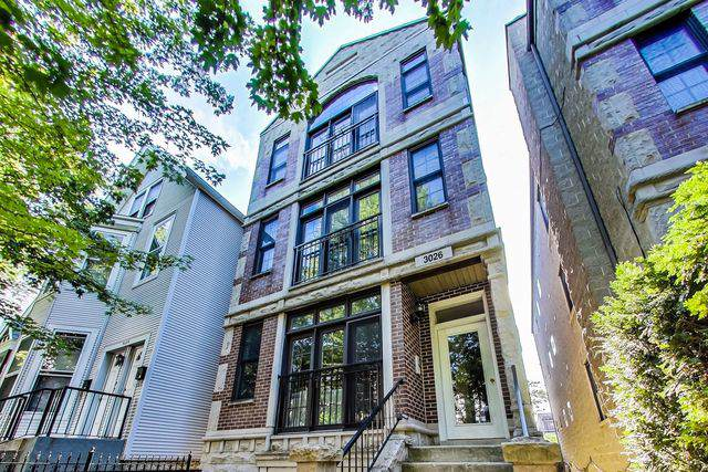 3026 N Seminary Avenue #3, Chicago, IL 60657 (MLS #10607485) :: Lewke Partners