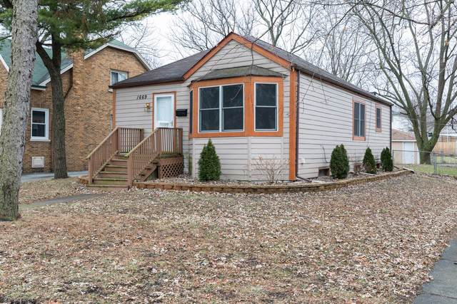1669 Linden Road, Homewood, IL 60430 (MLS #10607979) :: The Wexler Group at Keller Williams Preferred Realty