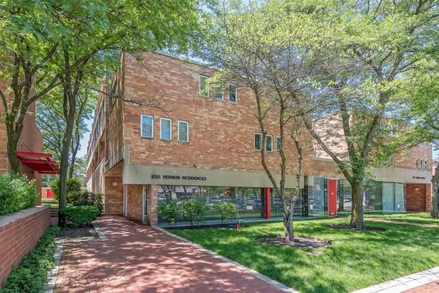 630 Vernon Avenue #9, Glencoe, IL 60022 (MLS #10612091) :: Angela Walker Homes Real Estate Group