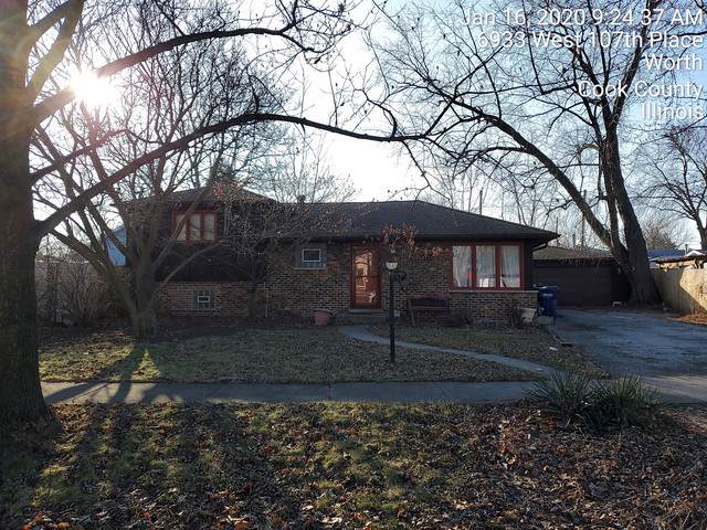 6933 W 107th Place, Worth, IL 60482 (MLS #10612828) :: Angela Walker Homes Real Estate Group