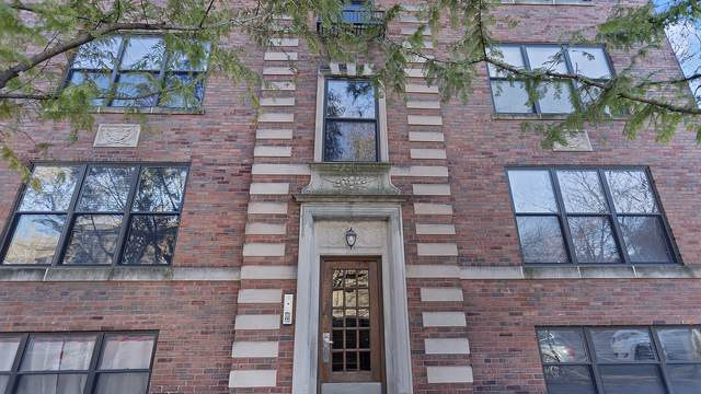 1967 W Cullom Avenue #3, Chicago, IL 60613 (MLS #10613345) :: Angela Walker Homes Real Estate Group