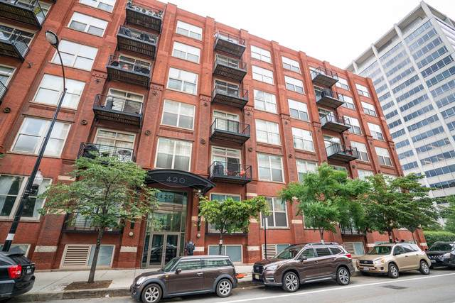 420 S Clinton Street 515A, Chicago, IL 60607 (MLS #10614352) :: Property Consultants Realty