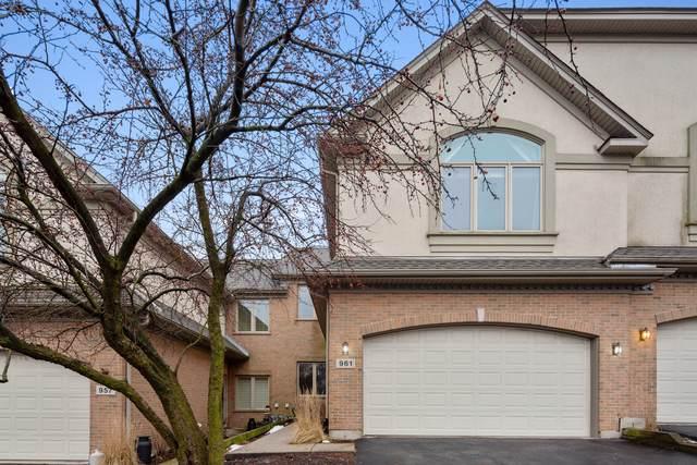 961 W Spencer Court, Palatine, IL 60067 (MLS #10614689) :: John Lyons Real Estate