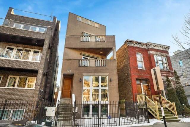2741 W Cortez Street #3, Chicago, IL 60622 (MLS #10617356) :: The Perotti Group | Compass Real Estate