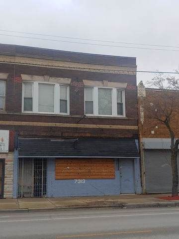 7313 Halsted Street, Chicago, IL 60621 (MLS #10617665) :: The Perotti Group | Compass Real Estate