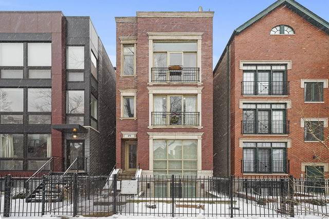 875 N Hermitage Avenue #2, Chicago, IL 60622 (MLS #10618877) :: The Perotti Group | Compass Real Estate