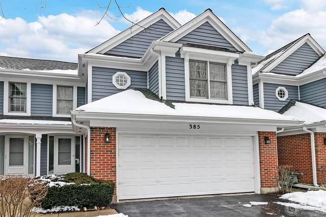 385 Deerbrook Lane #385, Vernon Hills, IL 60061 (MLS #10619889) :: Baz Realty Network | Keller Williams Elite