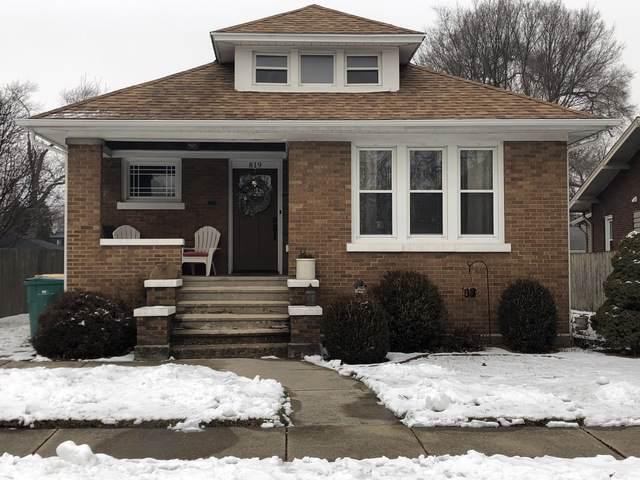 819 Caton Avenue, Joliet, IL 60435 (MLS #10619995) :: Property Consultants Realty