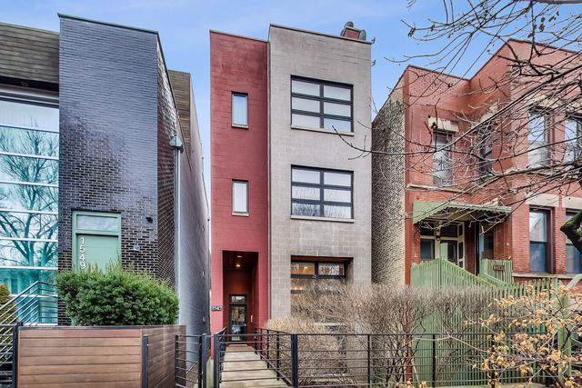 1547 N Honore Street #1, Chicago, IL 60622 (MLS #10620023) :: The Perotti Group | Compass Real Estate