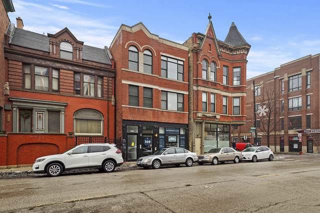 2221 W North Avenue #3, Chicago, IL 60647 (MLS #10620435) :: The Perotti Group | Compass Real Estate