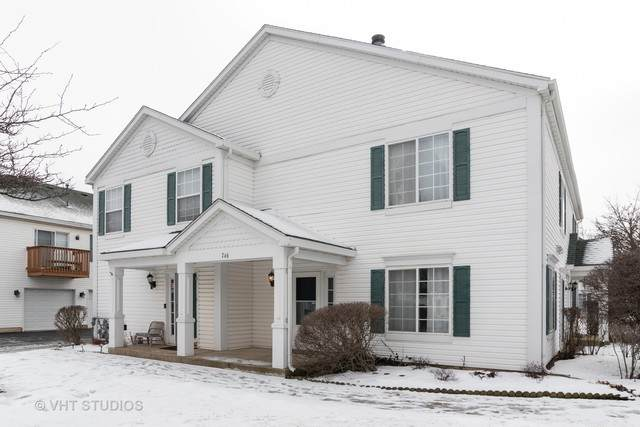 746 Fieldcrest Drive B, South Elgin, IL 60177 (MLS #10620508) :: Property Consultants Realty