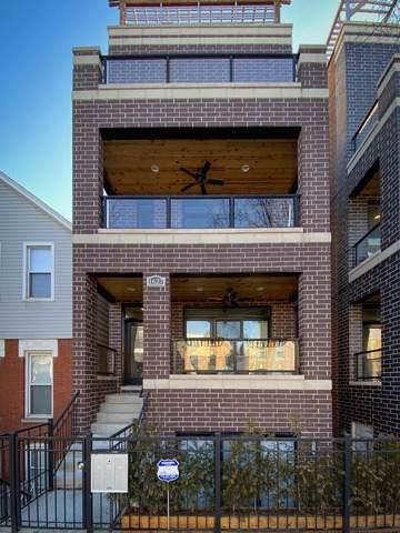 1627 W Pierce Avenue #1, Chicago, IL 60622 (MLS #10621033) :: The Perotti Group | Compass Real Estate