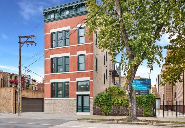 1351 N Damen Avenue #2, Chicago, IL 60622 (MLS #10621103) :: The Perotti Group | Compass Real Estate