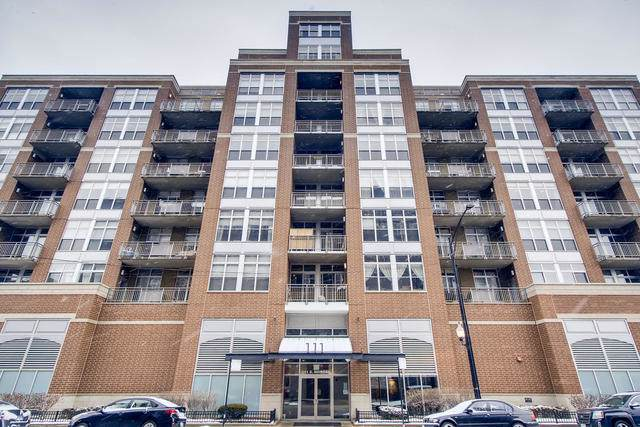 111 S Morgan Street #816, Chicago, IL 60607 (MLS #10621223) :: The Perotti Group | Compass Real Estate