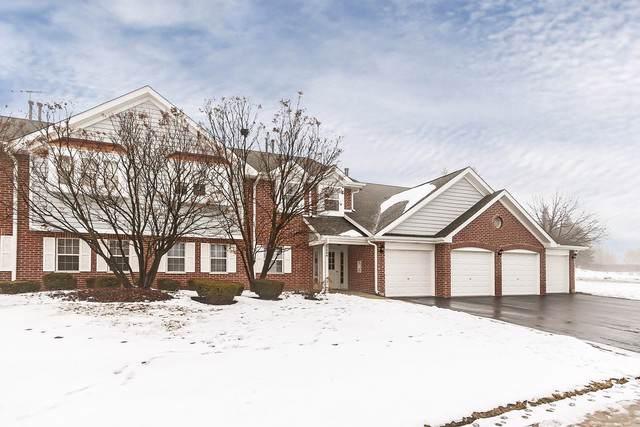 2856 Heatherwood Drive #8, Schaumburg, IL 60194 (MLS #10626410) :: Ani Real Estate