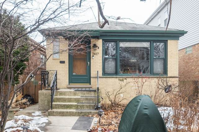 2417 W Cuyler Avenue, Chicago, IL 60618 (MLS #10631368) :: Baz Network | Keller Williams Elite
