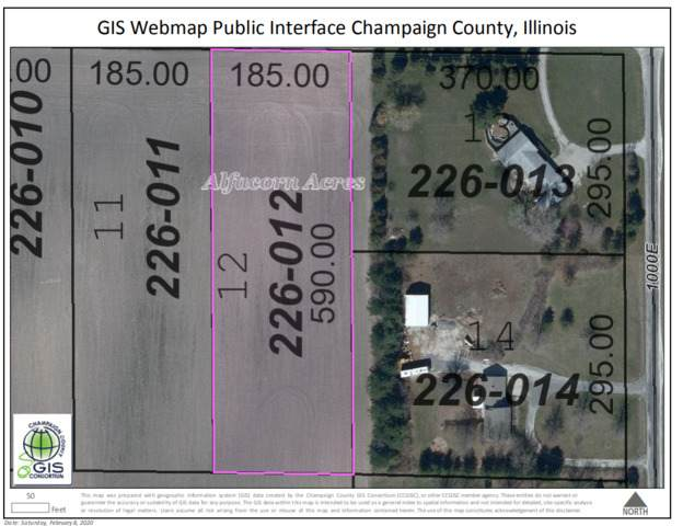 LOT 12 600N Road, TOLONO, IL 61880 (MLS #10632279) :: Littlefield Group