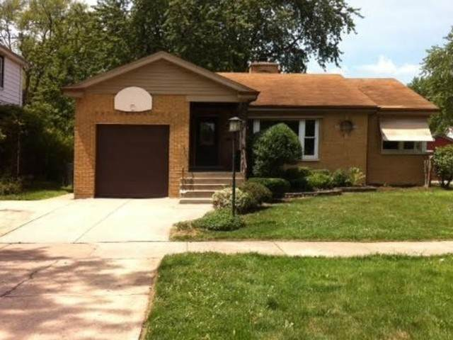 18536 Ashland Avenue, Homewood, IL 60430 (MLS #10635994) :: The Wexler Group at Keller Williams Preferred Realty