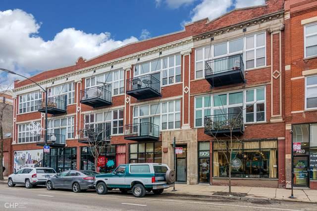 1907 N Milwaukee Avenue #304, Chicago, IL 60647 (MLS #10636176) :: Baz Network   Keller Williams Elite