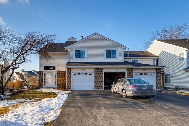 120 Winchester Drive 4B-2, Streamwood, IL 60107 (MLS #10636325) :: Ani Real Estate