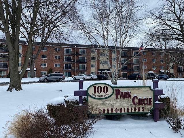 100 W Park Circle Drive 4B, Wheaton, IL 60187 (MLS #10638222) :: Ryan Dallas Real Estate
