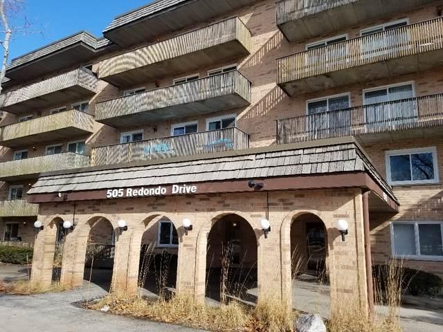 505 Redondo Drive #112, Downers Grove, IL 60516 (MLS #10638239) :: Ryan Dallas Real Estate