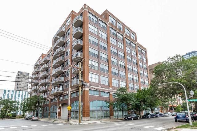 933 W Van Buren Street #526, Chicago, IL 60607 (MLS #10639123) :: Helen Oliveri Real Estate