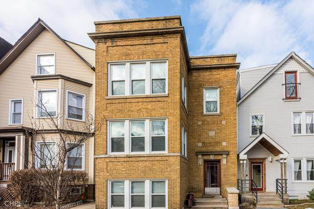 1918 W Roscoe Street #2, Chicago, IL 60657 (MLS #10639590) :: John Lyons Real Estate