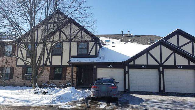 686 Catherine Court C, Wood Dale, IL 60191 (MLS #10639794) :: Century 21 Affiliated