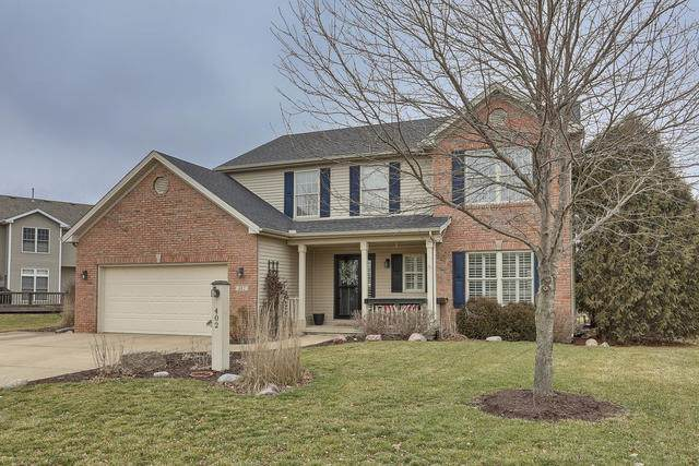 402 W Riverbend Boulevard, Mahomet, IL 61853 (MLS #10640780) :: John Lyons Real Estate