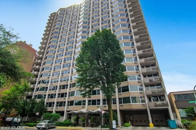 555 W Cornelia Avenue #1009, Chicago, IL 60657 (MLS #10640832) :: Property Consultants Realty