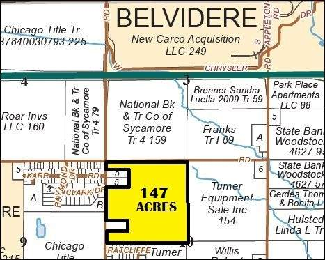 147 Acres Town Hall Road, Belvidere, IL 61008 (MLS #10641216) :: Suburban Life Realty