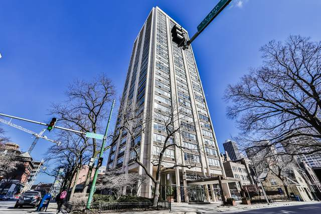 70 W Burton Place #1104, Chicago, IL 60610 (MLS #10641369) :: Property Consultants Realty