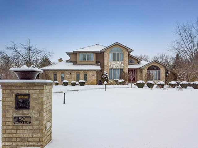 50 Romiga Lane, Palos Park, IL 60464 (MLS #10641652) :: The Wexler Group at Keller Williams Preferred Realty