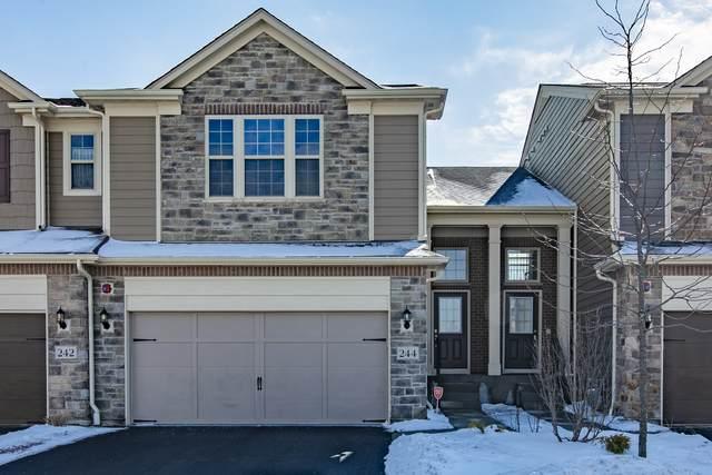 244 Belmont Drive, Lincolnshire, IL 60069 (MLS #10641804) :: Helen Oliveri Real Estate