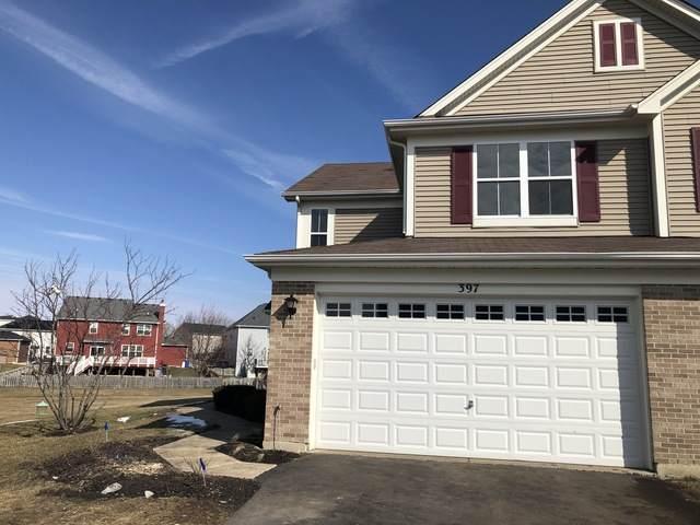 397 Bluegrass Parkway #397, Oswego, IL 60543 (MLS #10642371) :: The Dena Furlow Team - Keller Williams Realty