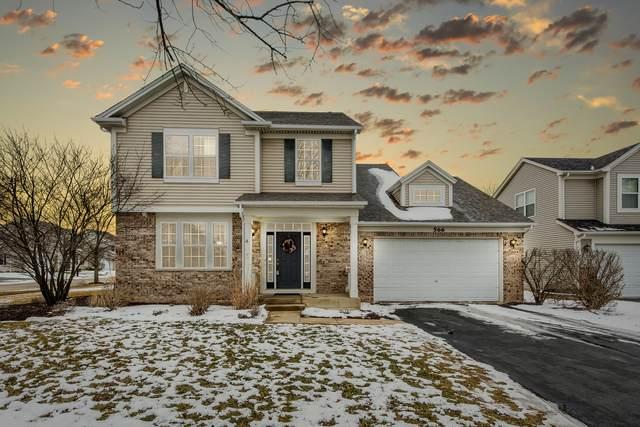 566 Cardinal Avenue, Oswego, IL 60543 (MLS #10642478) :: The Dena Furlow Team - Keller Williams Realty