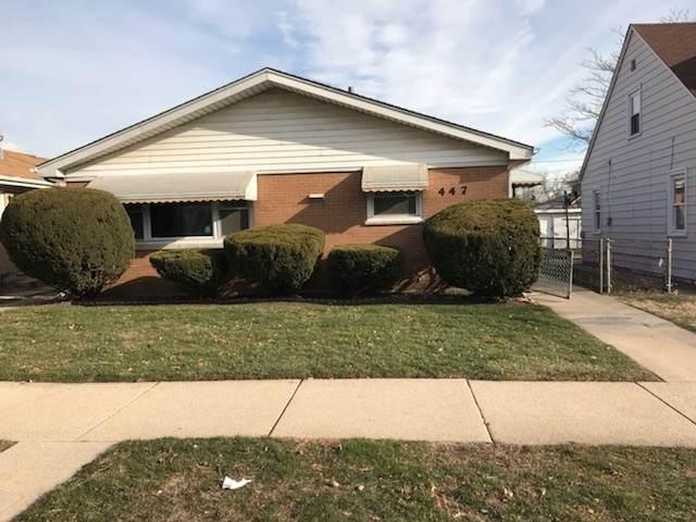 447 Greenbay Avenue, Calumet City, IL 60409 (MLS #10643333) :: Berkshire Hathaway HomeServices Snyder Real Estate