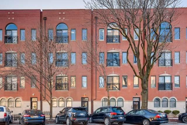 422 N Noble Street #4, Chicago, IL 60642 (MLS #10644456) :: Helen Oliveri Real Estate