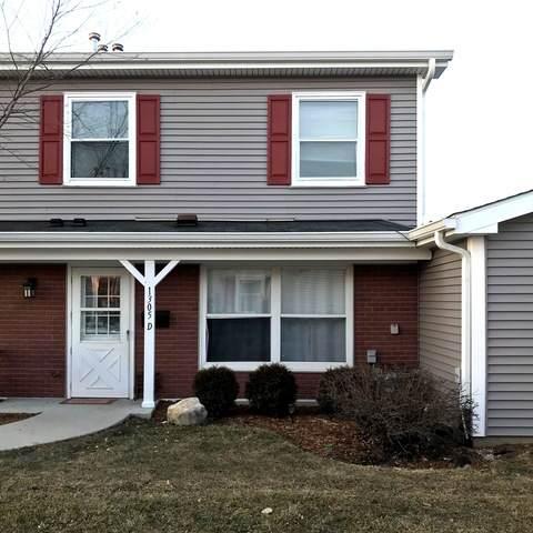 1305 Kingsbury Drive D, Hanover Park, IL 60133 (MLS #10645078) :: The Dena Furlow Team - Keller Williams Realty