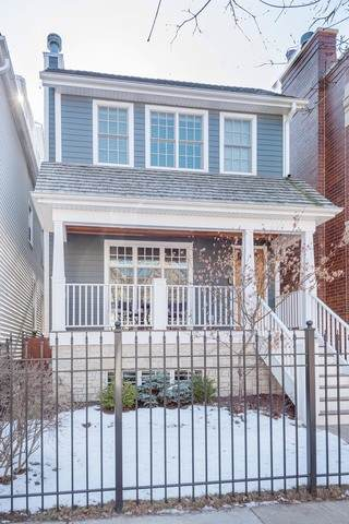 1333 W George Street, Chicago, IL 60618 (MLS #10645466) :: John Lyons Real Estate
