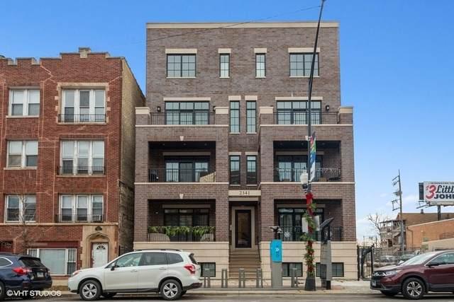 2341 W Roscoe Street 3E, Chicago, IL 60618 (MLS #10645786) :: Helen Oliveri Real Estate