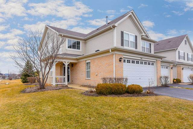 361 Bluegrass Parkway #0, Oswego, IL 60543 (MLS #10648036) :: The Mattz Mega Group