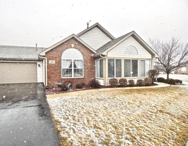 417 Stonegate Way #417, Manteno, IL 60950 (MLS #10648551) :: Angela Walker Homes Real Estate Group