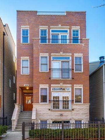 3640 N Damen Avenue #3, Chicago, IL 60618 (MLS #10649112) :: Helen Oliveri Real Estate