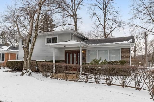 447 Alpine Lane, Wilmette, IL 60091 (MLS #10650577) :: Helen Oliveri Real Estate