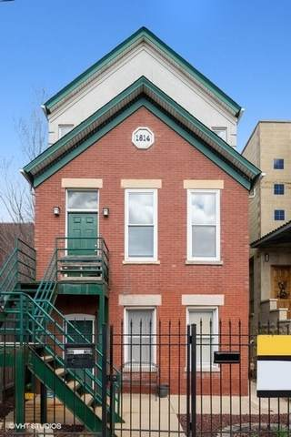 1814 W Bloomingdale Avenue, Chicago, IL 60622 (MLS #10655901) :: Touchstone Group