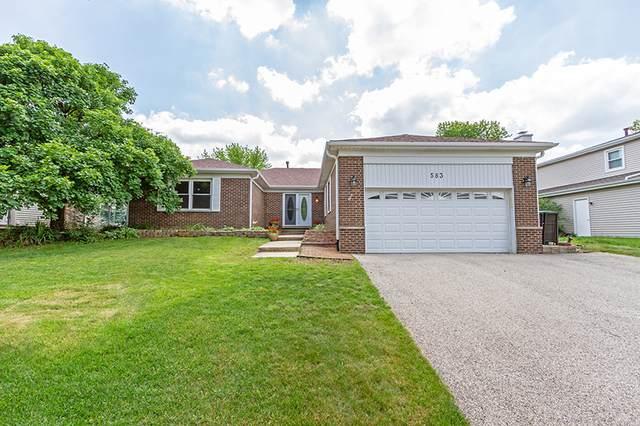 583 Applegate Lane, Lake Zurich, IL 60047 (MLS #10665393) :: Ani Real Estate