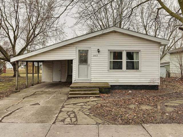 303 E 8th Street, Gibson City, IL 60936 (MLS #10667214) :: Property Consultants Realty